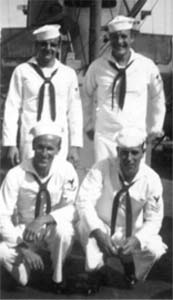 Bob Henne, William Retallick, Ray Giles, Louis Minerding 