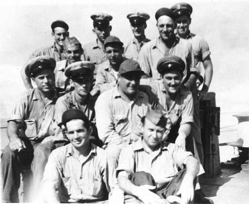 USS BUSH Chief Petty Officers - Oct. 1944
