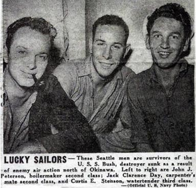 USS BUSH Seattle Survivors