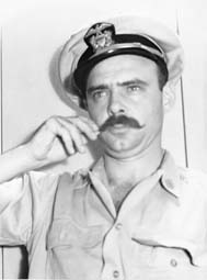 Lt. Tony Lilly with Mustache