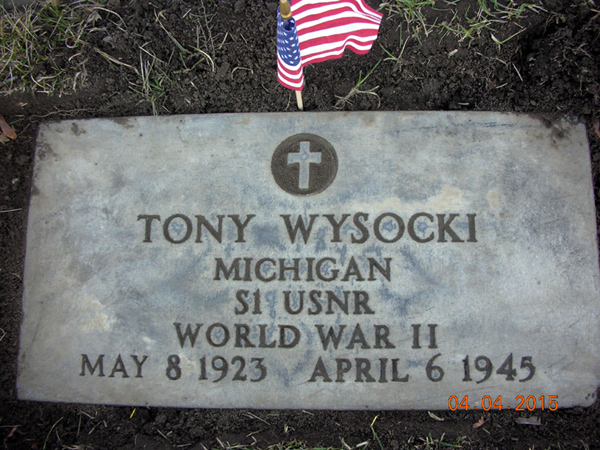 Final Resting Place - Tony Wysocki